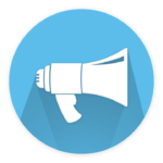 Digital marketing event promotion megaphone image