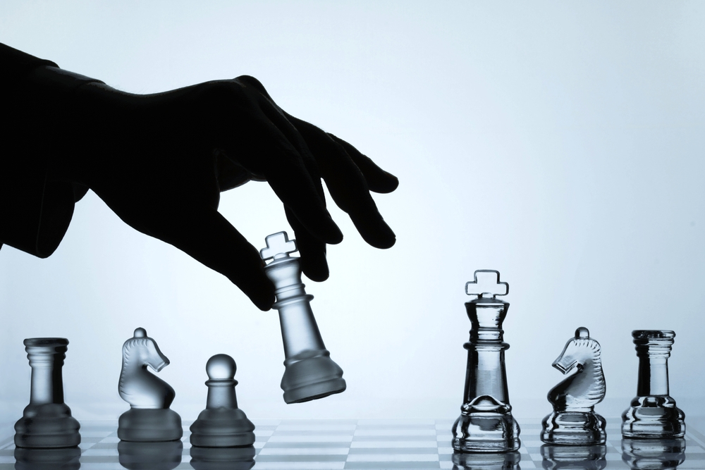 have a business strategy playing chess