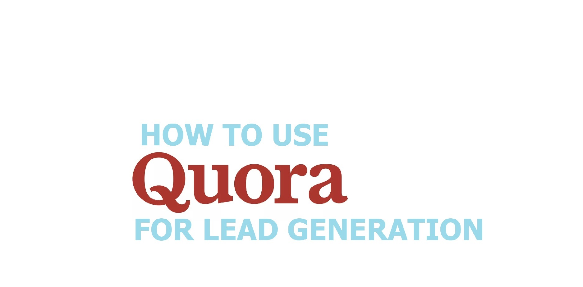 quora-lead-generation